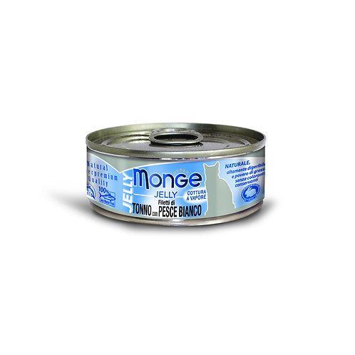 Monge Jelly Yellowfin Tuna With Seabream 80g