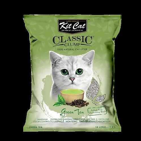 Kitcat Cat Litter 10L/7kg (Green Tea)