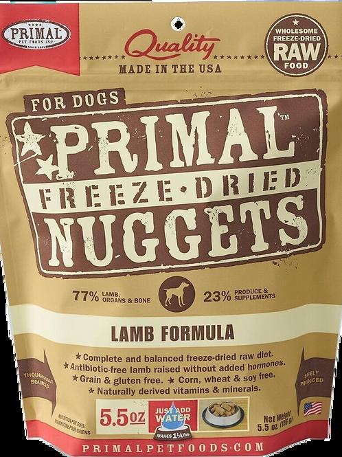Primal Freeze Dried Canine Lamb Formula