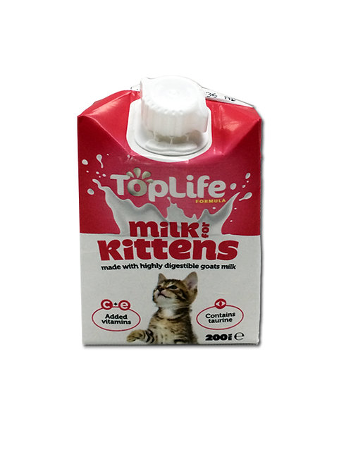 Top Life Kitten Goat Milk 200ml