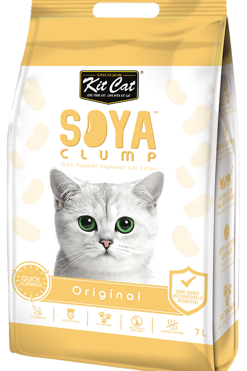 Kit Cat SoyaClump Soybean Litter 7L (Original)