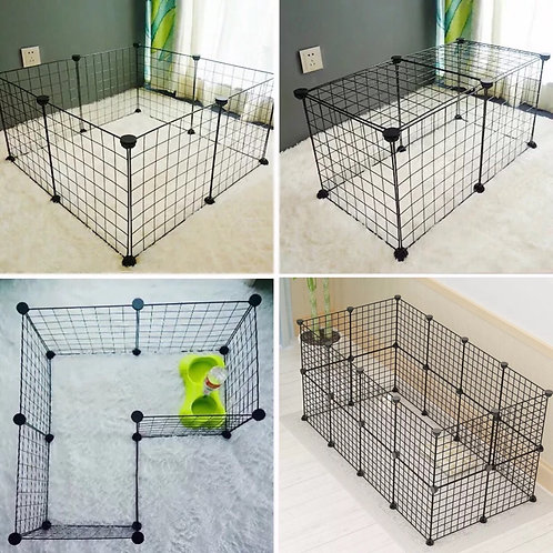 Dog Buildable Fence - 10pcs of Panels