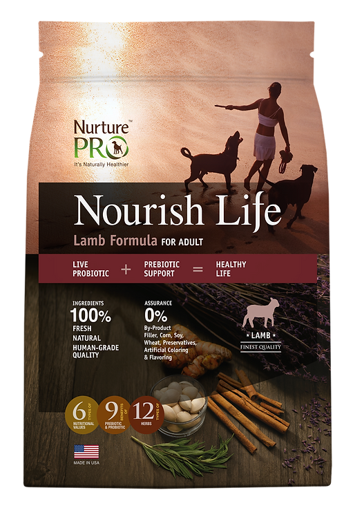 Nourish Life Lamb Formula for Adult