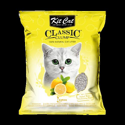 Kitcat Cat Litter 10L/7kg (Lemon)
