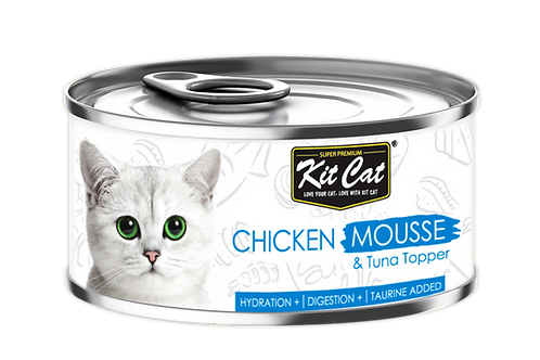 Kit Cat Tuna Mousse & Chicken Toppers 80g