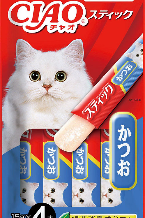 Ciao Stick Tuna (Katsuo) in Jelly
