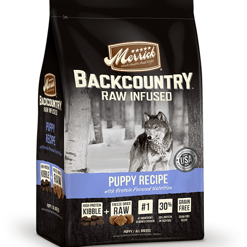 Merrick Grain Free Backcountry Puppy Recipe