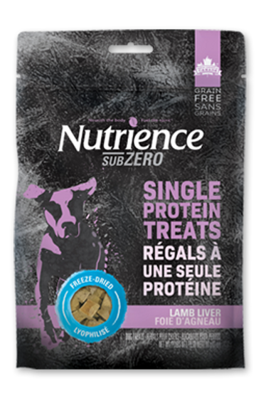 Nutrience GF SubZero F/D Dog Lamb Liver 90g