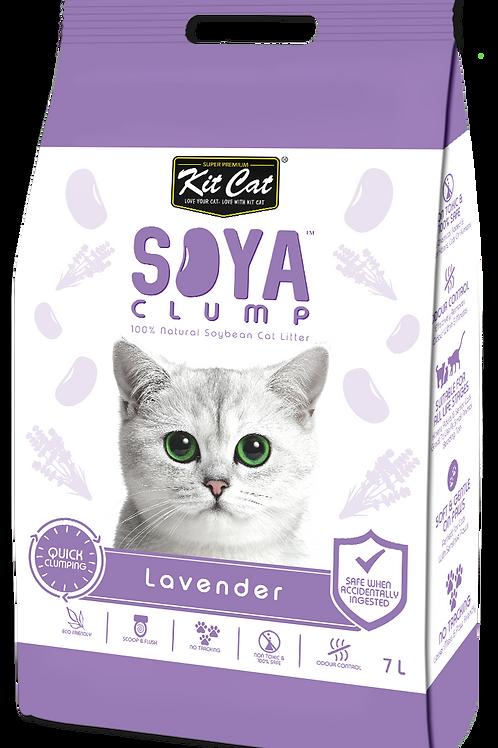 Kit Cat SoyaClump Soybean Litter 7L (Lavender)