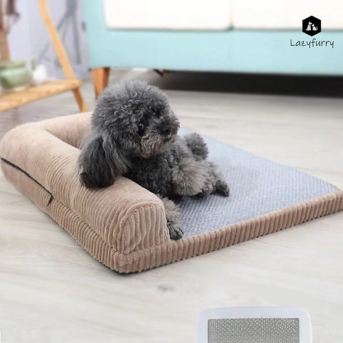 Dog Cooling Bed with Cushion