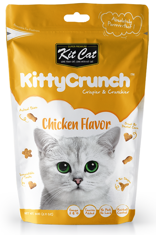 Kit Cat KittyCrunch Cat Bites (Chicken) 60g
