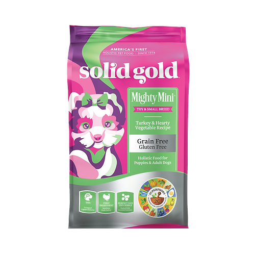 SOLID GOLD SMALLBREED TURKEY & VEG (MIGHTY MINI) 4LBS