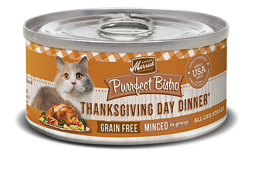 Merrick Purrfect Bistro Thanksgiving Day 5.5oz
