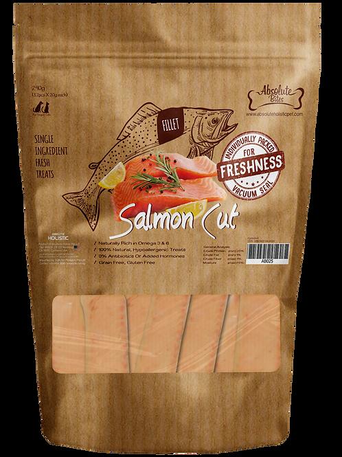Absolute Bites Salmon Cut 240g