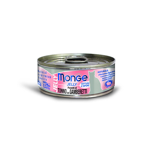 Monge Jelly Yellowfin Tuna With Shrimp 80g