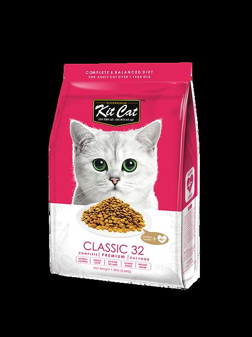 Kit Cat Premium Cat Food Classic 32