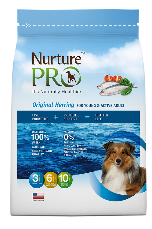 Nurture Pro Original Herring for Young & Active Adult
