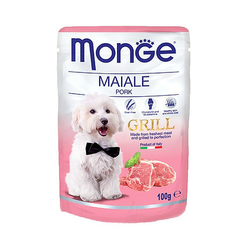 Monge Grill Pouches Pork 100g