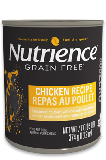 Nutrience GF SubZero Dog Chicken Recipe 374g