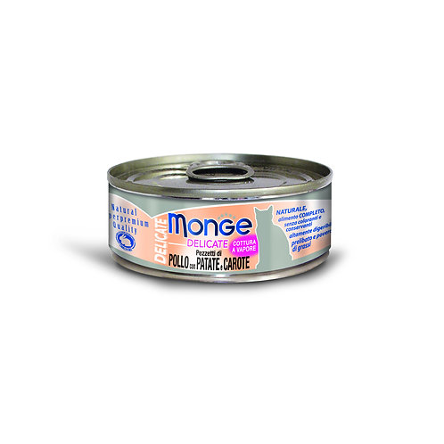 Monge Delicate Chicken With Potato & Carrot 80g