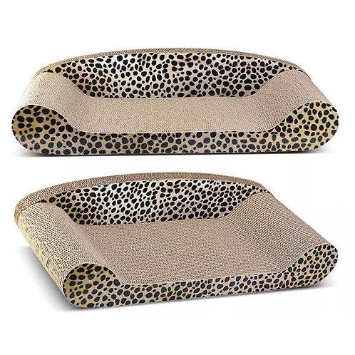 Cat Scratcher Leopard Scratchboard Sofa