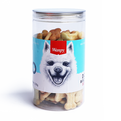 Wanpy Dog Bone Biscuit 2 sizes