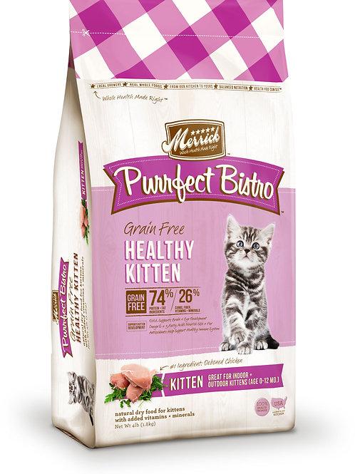 Merrick Purrfect Bistro Grain Free Kitten 4lbs