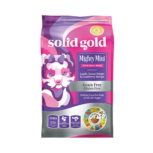 SOLID GOLD SMALLBREED LAMB & CRANBERRY (MIGHTY MINI) 4LBS