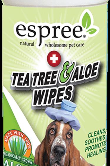 Espree Tea Tree & Aloe Wipes (50 wipes)