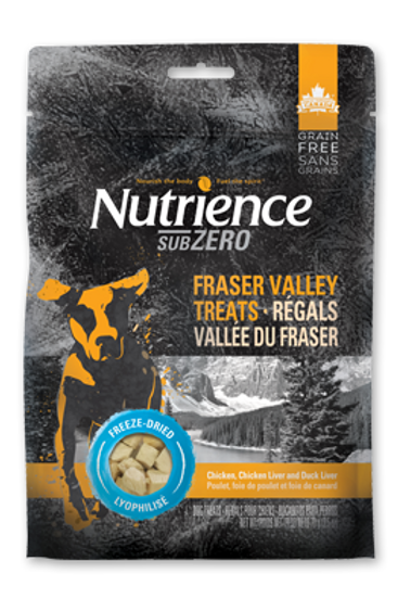 NT SubZero Fraser Valley F/D Dog Treat 70g