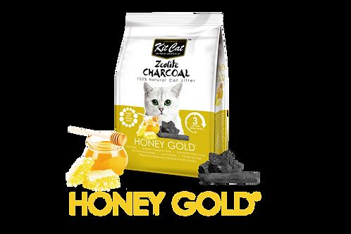 Kit Cat Zeolite Charcoal Honey Gold 4kg