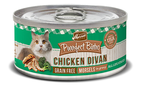 Merrick Purrfect Bistro Chicken Divan 5.5oz