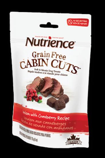Nutrience G/F Dog Moist Venison w/Cranberry 170g