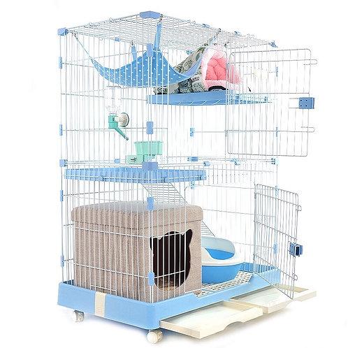 2 Tier Cat Blue in Blue