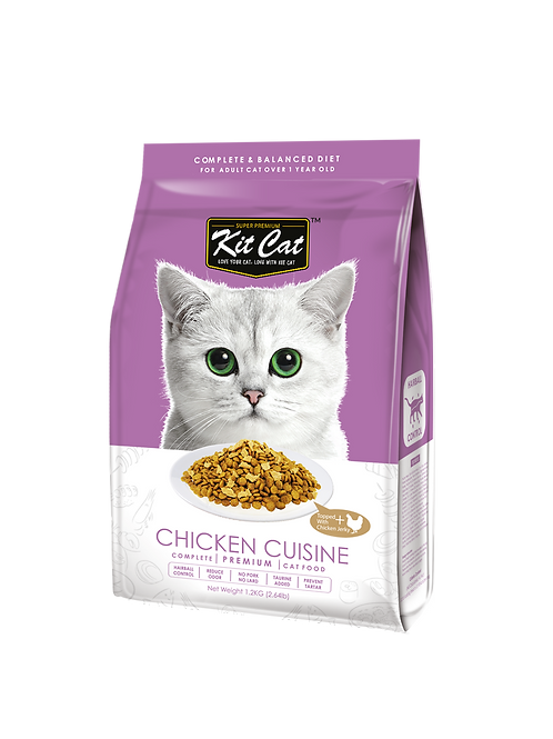 Kit Cat Premium Cat Food Chicken Cuisine