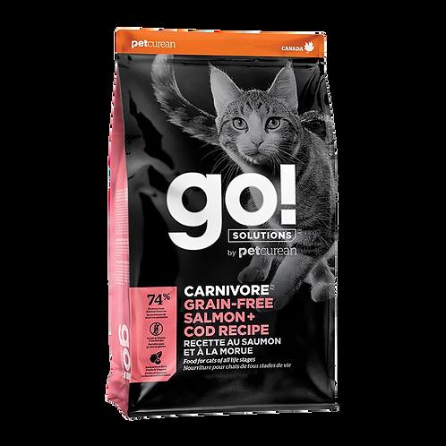 Go! Carnivore CF GF Salmon + Codfish Recipe 3lbs