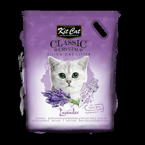 Kitcat Crystal Cat Litter 5L (Lavender)