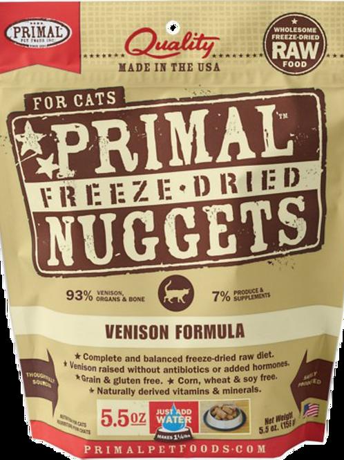 Primal Raw Freeze Dried Feline Venison Formula