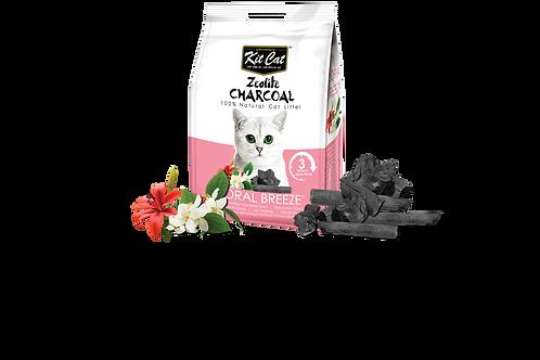 Kit Cat Zeolite Charcoal Floral Breeze 4kg