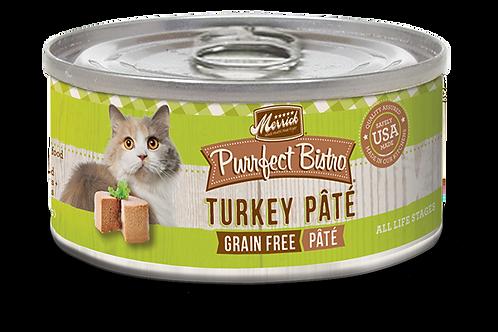 Merrick Purrfect Bistro Turkey Pate 5.5oz