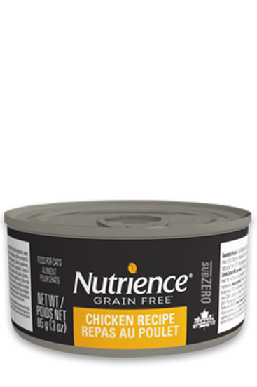 Nutrience GF SubZero Cat Chicken Recipe 85g