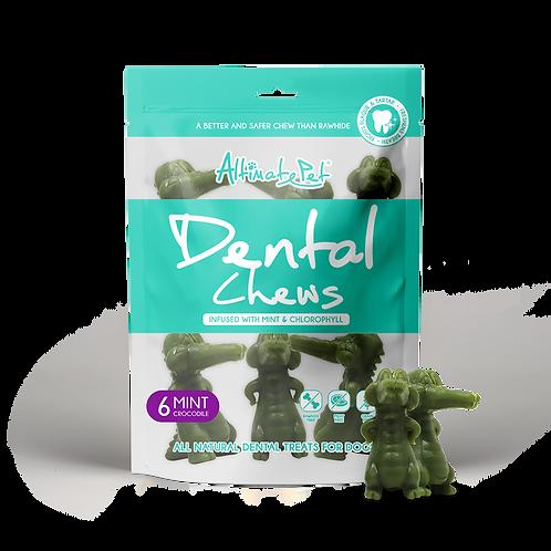 AltimatePet Dental Chews Mint Crocodile 150g (6pcs) .