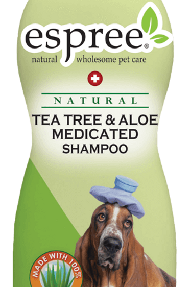 Espree Tea Tree Aloe Medicated Shampoo 590ml