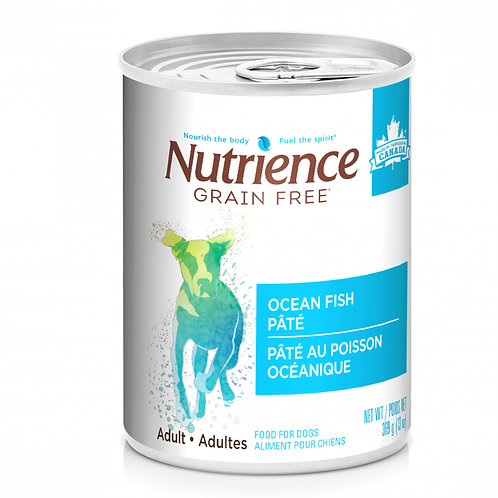 Nutrience GF Dog Ocean Fish Pate 369g