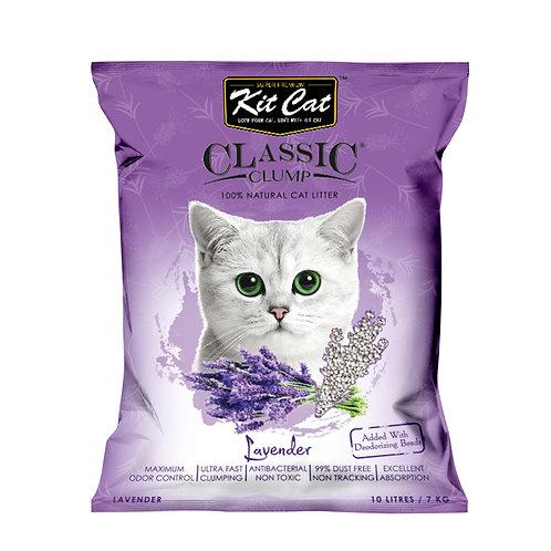 Kitcat Cat Litter 10L/7kg (Lavender)
