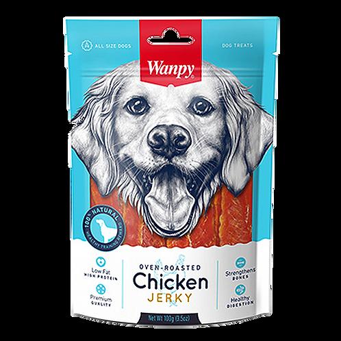 Wanpy Oven-Roasted Chicken Jerky 100g