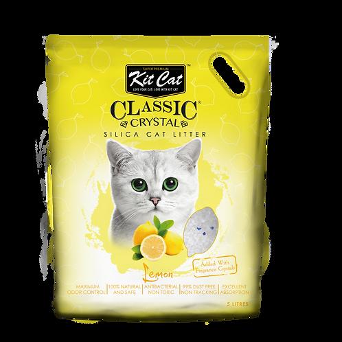 Kitcat Crystal Cat Litter 5L (Lemon)