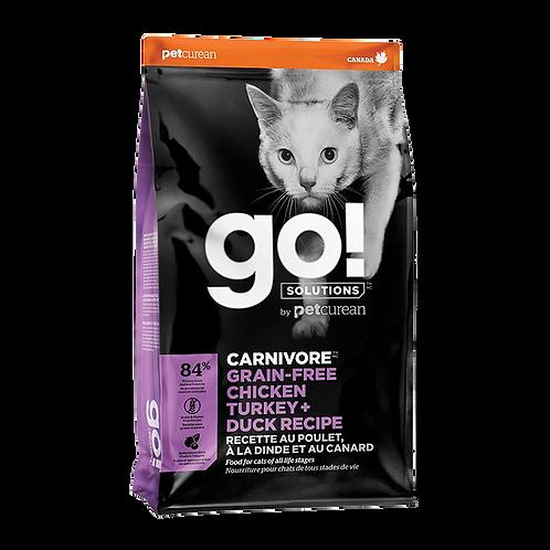 Go! Carnivore CF GF Chicken&Turkey&Duck Recipe 3lbs