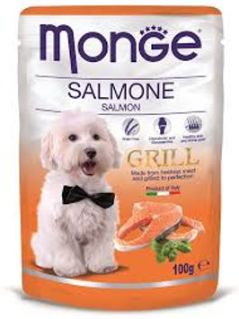 Monge Grill Pouches Salmon 100g