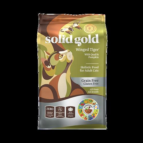 SOLID GOLD GRAINFREE QUAIL & PUMPKIN (WINGED TIGER) 3LBS